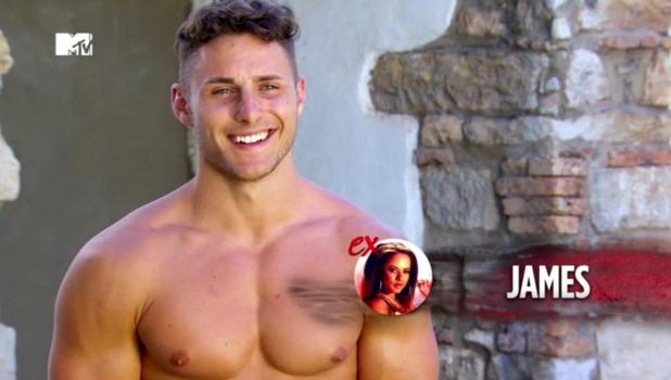 MTV Ex on the Beach: James and Olivia row at club 16 February 2016