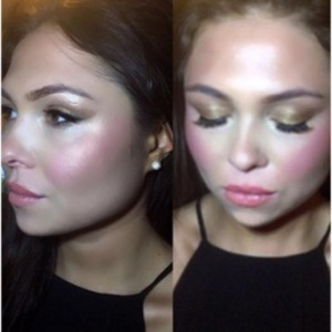 Fran Parman's Instagram mishap with make-up picture 22 February