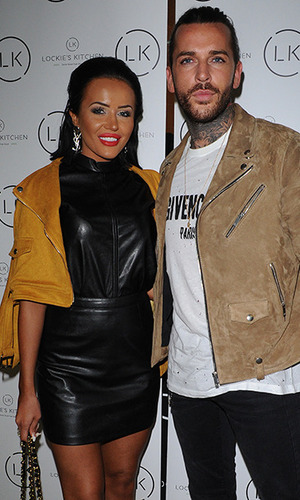 Pete Wicks and Riah Read turn up to the opening of TOWIEs James Lock's, Lockies Kitchen in Romford, Essex. 22 February 2016