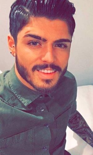 Sam Reece selfie, Instagram 16 February