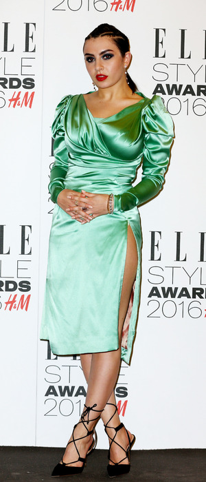 Charli XCX arrives at the ELLE Style Awards 2016 in London, 23rd February 2016