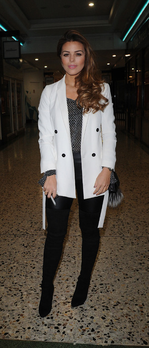 TOWIE star Chloe Lewis at Lockie's Kitchen launch in Romford, Essex, 23rd February 2016