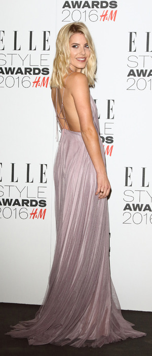 Mollie King (The Saturdays) attends the ELLE Style Awards 2016 in London, 23rd February 2016