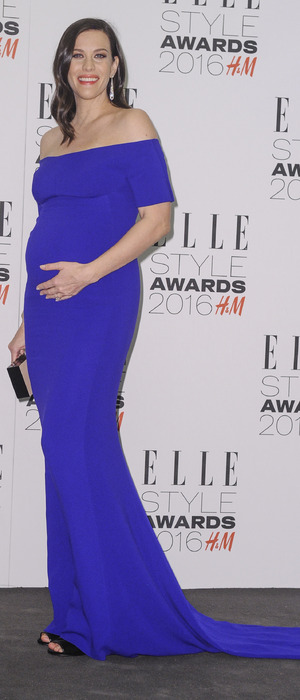 Pregnant Liv Tyler at the ELLE Style Awards 2016 in London, 23rd February 2016
