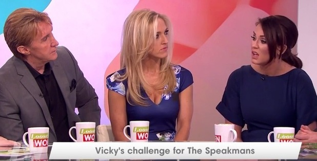 Vicky Pattison and The Speakmans on Loose Women 23 February