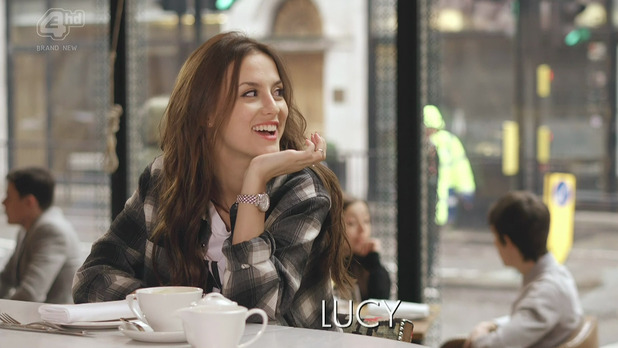Made In Chelsea's Lucy Watson - shown on E4 hd. 8 April 2014.