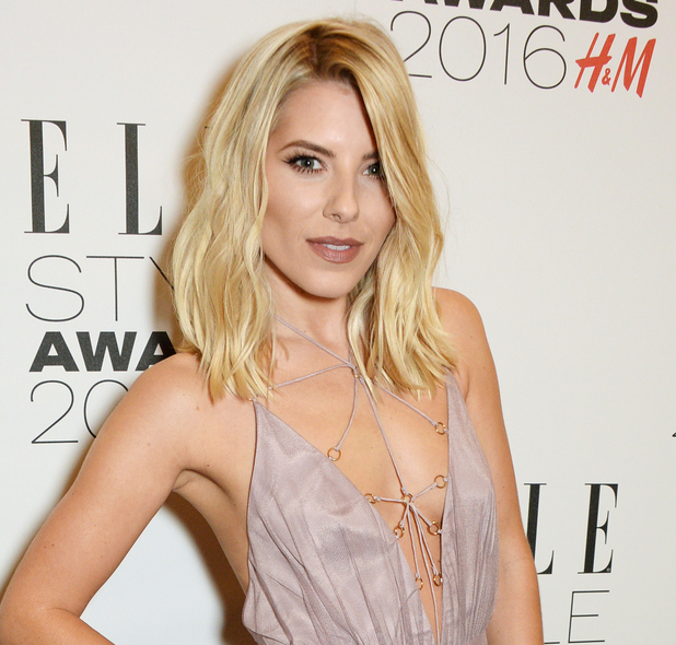 Mollie King attends The Elle Style Awards 2016 on February 23, 2016 in London, England.