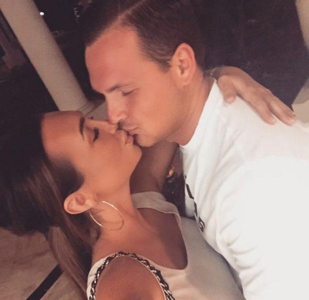 Lauren Goodger and boyfriend Jake McLean 21 February