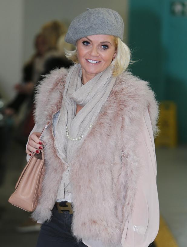 Danniella Westbrook outside ITV Studios - 8 February 2016.