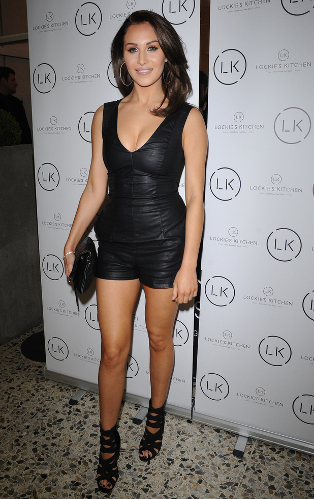 Celebrity Big Brother star Chloe Goodman at Lockie's Kitchen launch in Romford, Essex, 23rd February 2016