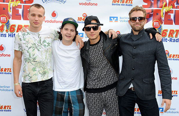 Lukas Graham at Stars For Free 2013 by Berlin radio station 104.6RTL at Wuhlheide amphitheater - Photocall