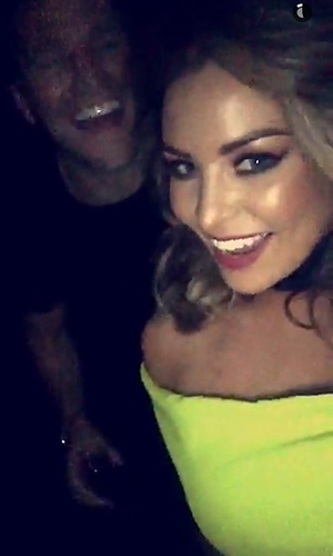 Mark and Jessica Wright at the BRIT Awards 24 Feb 2016