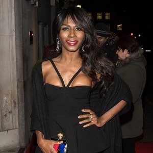 Sinitta at the British Heart Foundation Roll Out The Red Ball. 11 February 2016.