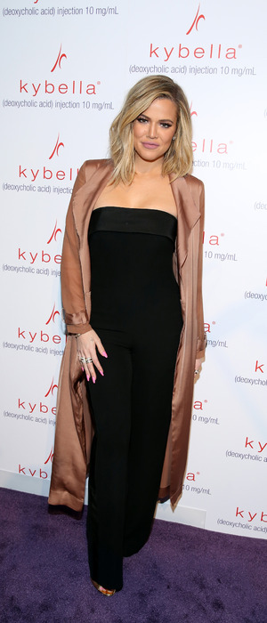 Khloe Kardashian kicks off the Allergen Kybella launch in New York 3rd March 2016