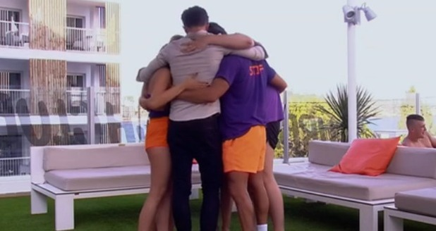 Jordan Davies leaves Ibiza Weekender, ITV2 28 February