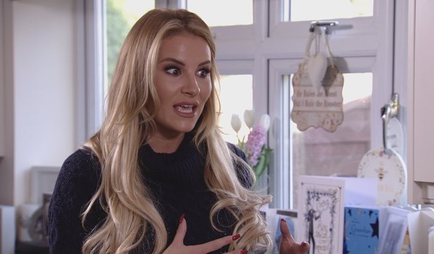 TOWIE: Georgia recounts rumour about Lockie and Courtney. 6 March 2016.