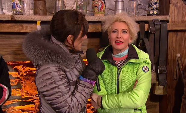 Heather Mills withdraws from The Jump. 28 February 2016.