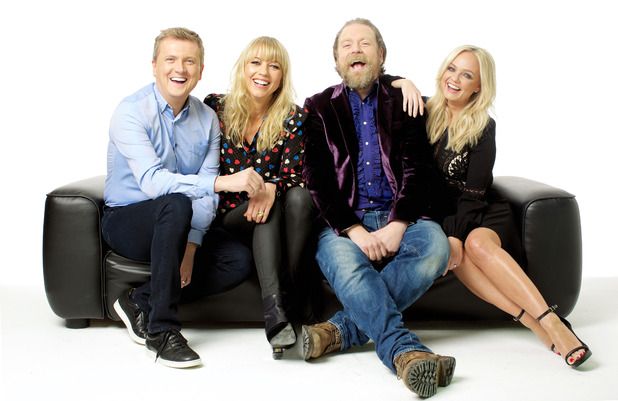 Too Much TV, Sara Cox, Emma Bunton, Rufus Hound, Aled Jones, Weekdays from Mon 29 Feb