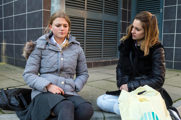 Corrie, Bethany confides in Kylie, Mon 7 Mar