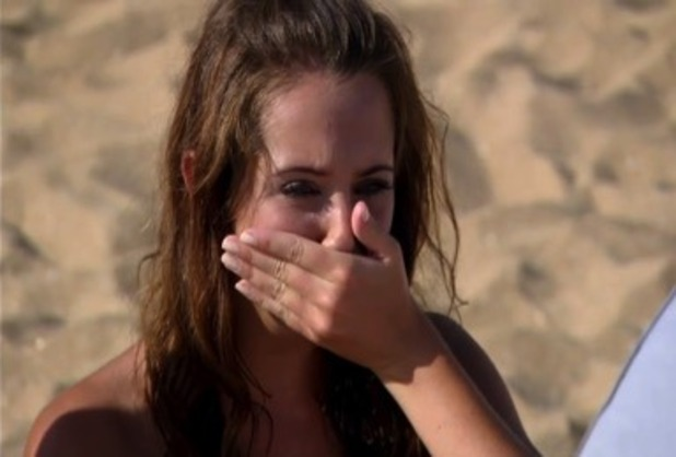 Gina sends Joe home, Ex On The Beach 1 March