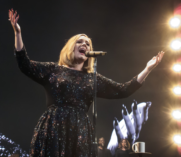 Adele begins her world tour at The SSE Arena in Belfast, Northern Ireland - 29 February 2016.