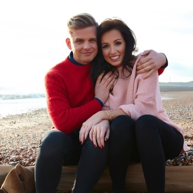 Jeff Brazier and Kate Dwyer