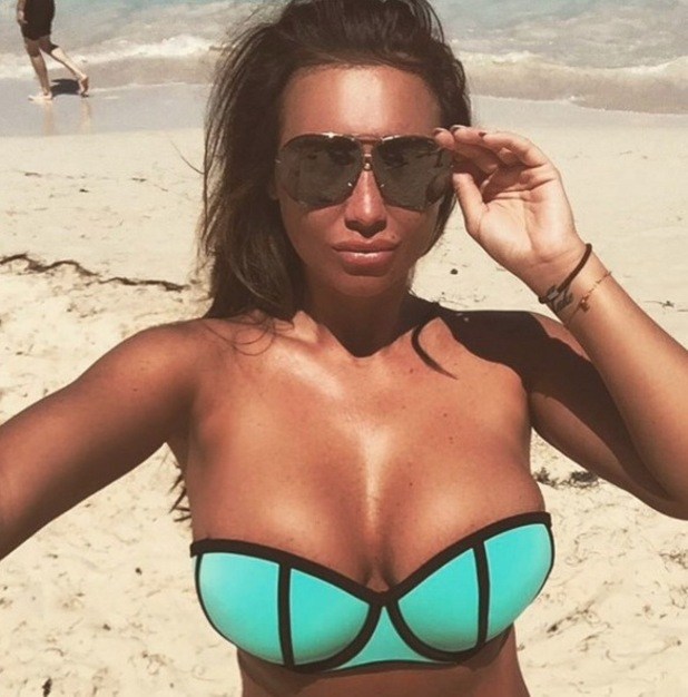 Lauren Goodger on holiday in the Dominican Repbulic 1 March