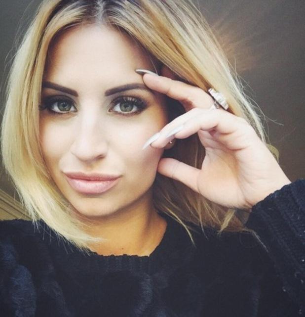 Ferne McCann new selfie on Instagram 25 February