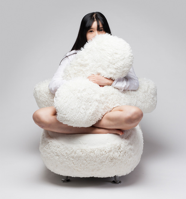 The Free Hug Sofa has been designed to hug you