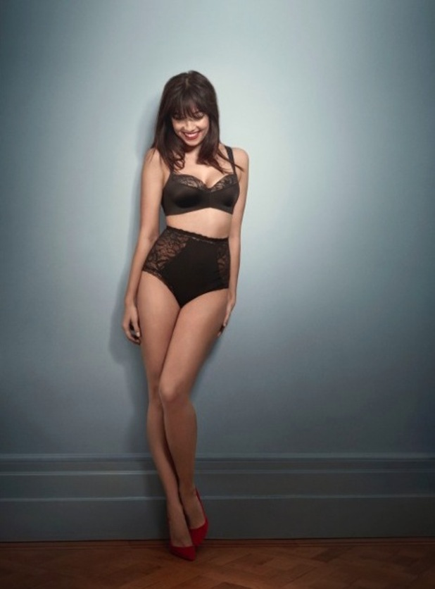 Daisy Lowe is announced as the face of Triumph, 29 February 2016