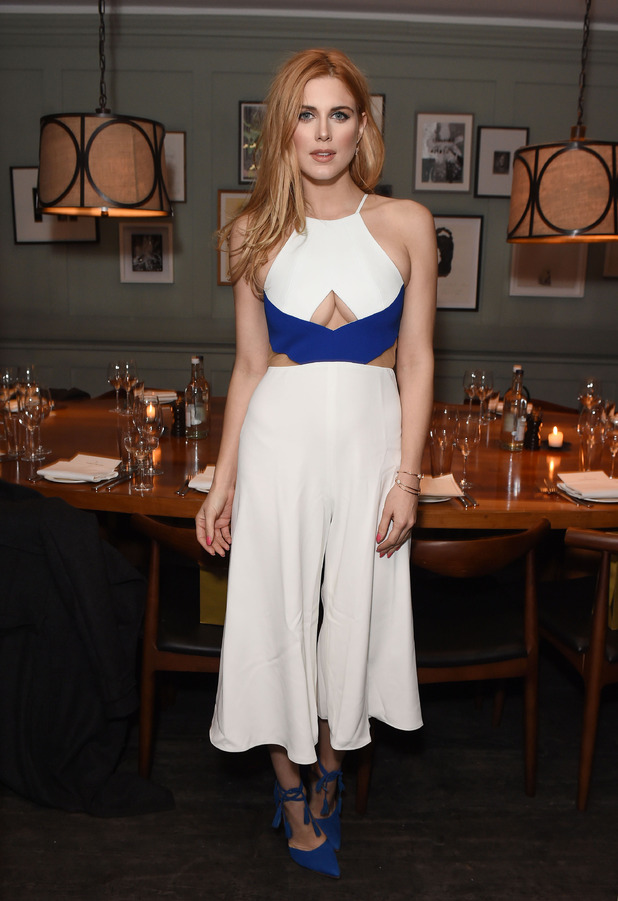 Former Made In Chelsea star Ashley James attends the Bumble App launch party in London, 3rd March 2016