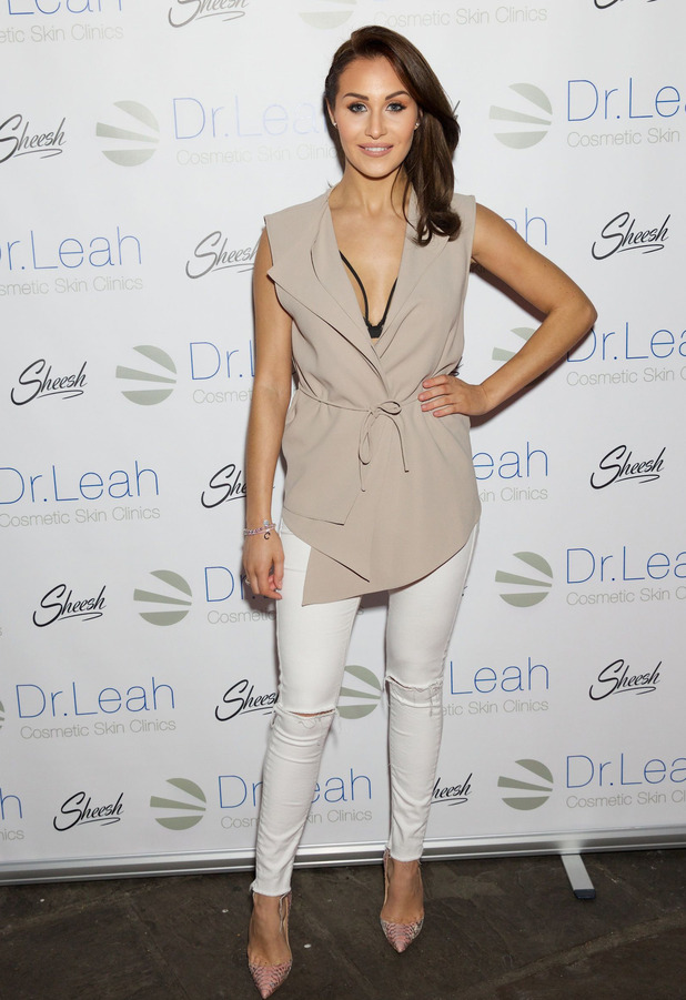 Celebrity Big Brother star Chloe Goodman attends the Dr. Leah Cosmetic Skin Clinic event in Chigwell Essex, 1st March 2016