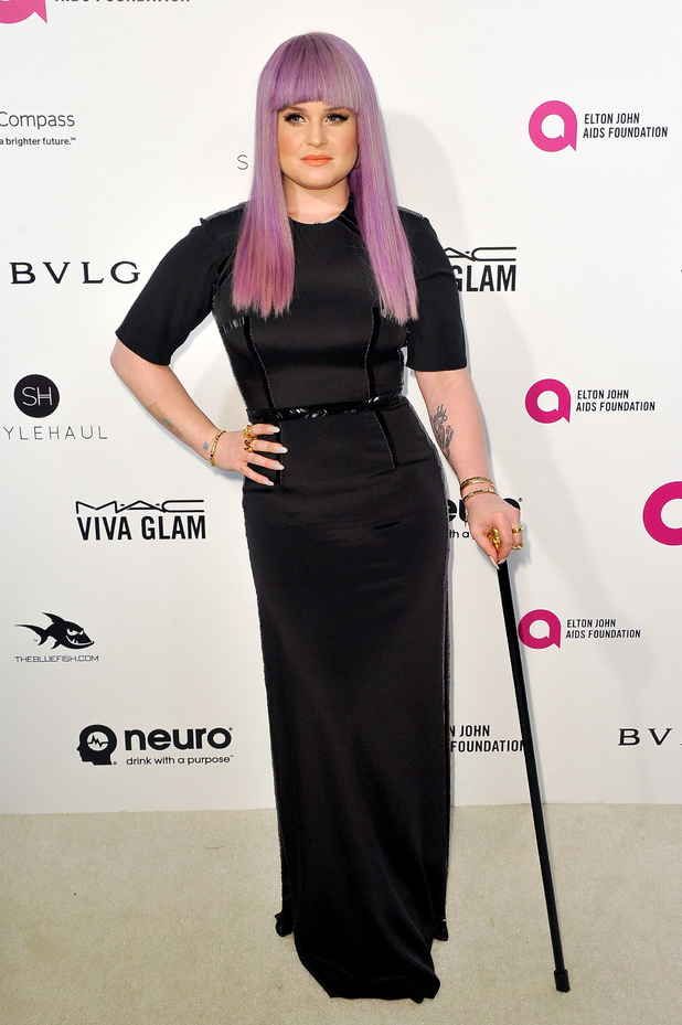Kelly Osbourne arrives at the 24th Annual Elton John AIDS Foundation's Oscar Viewing Party on February 28, 2016 in West Hollywood, California.