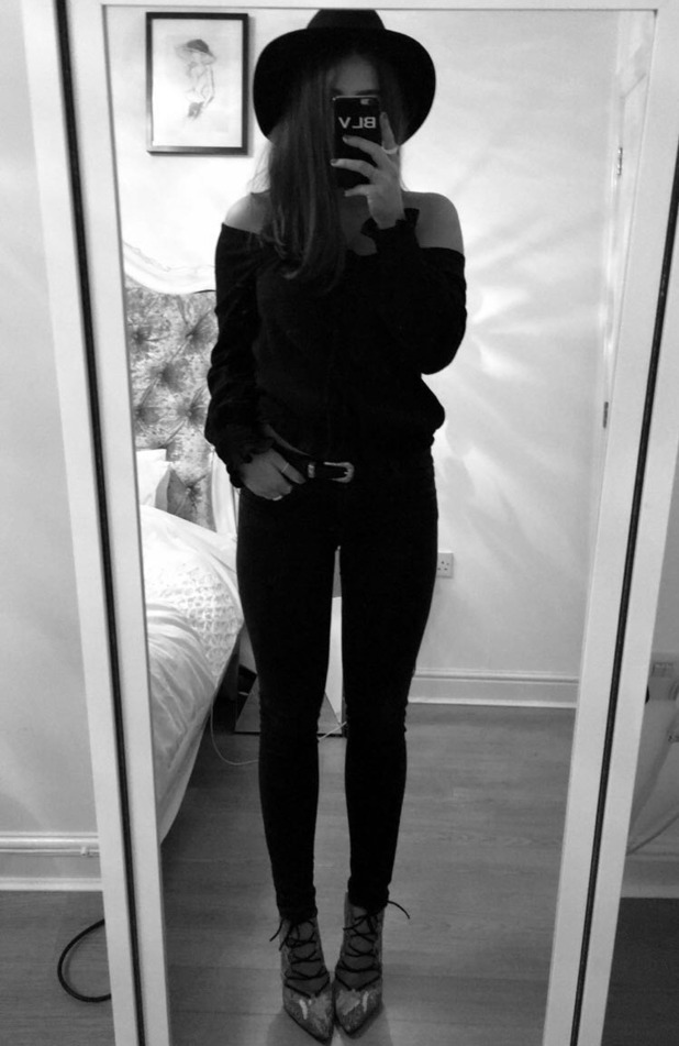 Brooke Vincent Blog: Brooke's outfit for Liverpool 2 March