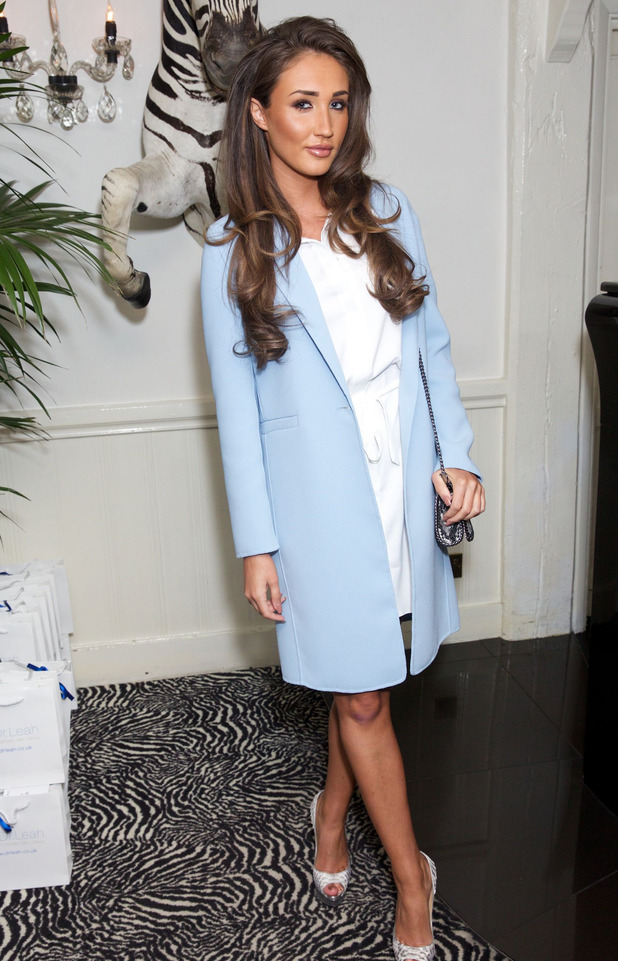 Ex On The Beach and Celebrity Big Brother star Megan McKenna at the Dr. Leah Cosmetic Clinic Skin event in Chigwell, Essex, 29th February 2016