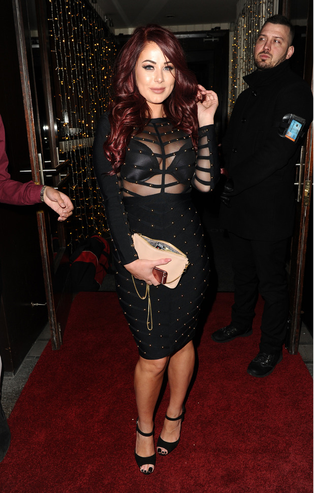 Love Island's Jess Hayes at the Jsky Fashion Show in Manchester, 2nd March 2016