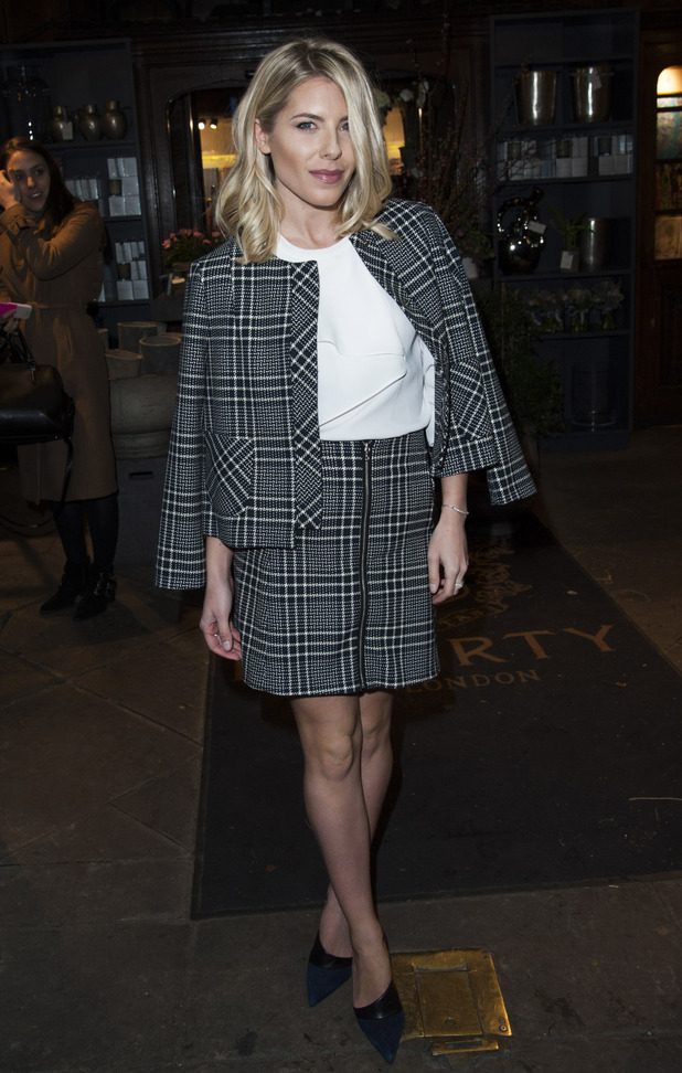 The Saturdays singer Mollie King attends the Mothers2Mothers event in London, 2nd March 2016