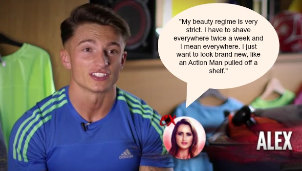 Ex On The Beach: Alex Kippen Series 4, Episode 7 quotes