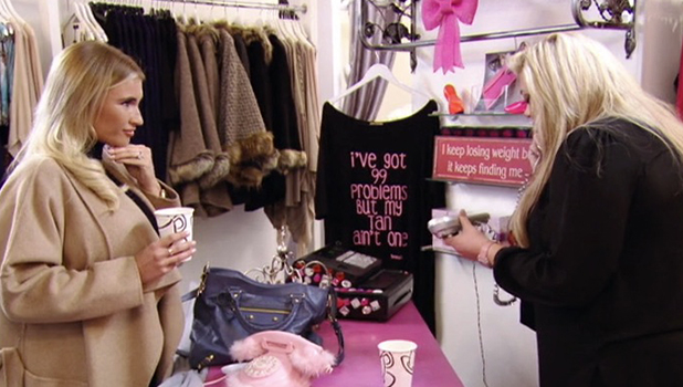 TOWIE Series 17, Episode 1 Gemma in her boutique