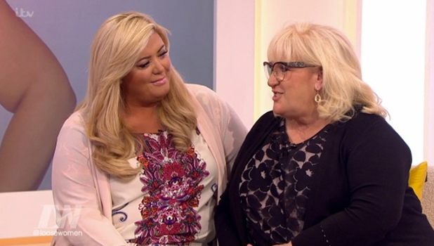 Gemma Collins and mum Joan on Loose Women 4 March 2016