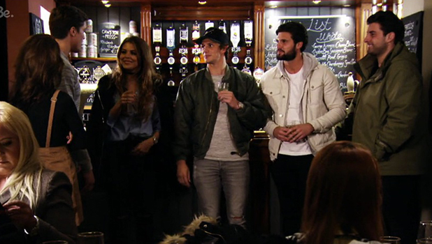 TOWIE Series 17, Episode 1 Jake talks about Lewis' confession to kissing Chloe