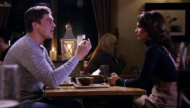 TOWIE Series 17, Episode 1 Nicole and Lewis have a drink