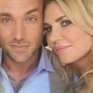Calum Best and Brandi Glanville selfie. 2015.