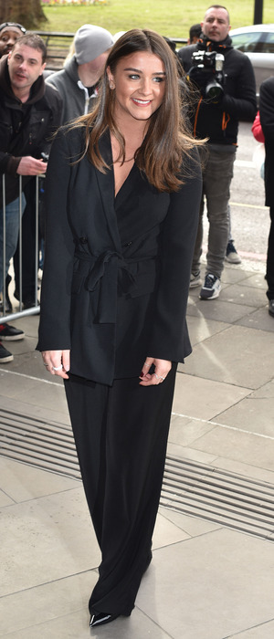 Coronation Street actress Brooke Vincent at the TRIC Awards in London, 8th March 2016