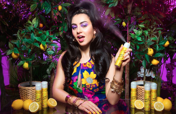 Charli XCX launches new Impulse fragrance, Why Not? and stars in tropical jungle campaign image, 10th March 2016
