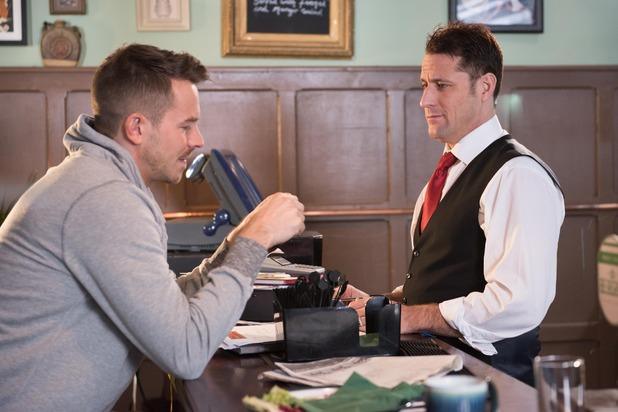 Hollyoaks, Darren helps Tony gamble, Fri 11 Mar