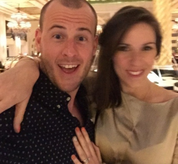 Verity Rushworth and Dominic Shaw announce pregnancy news 7 March
