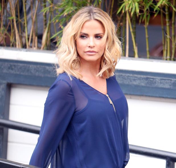 Katie Price outside ITV Studios - 26 February 2016.
