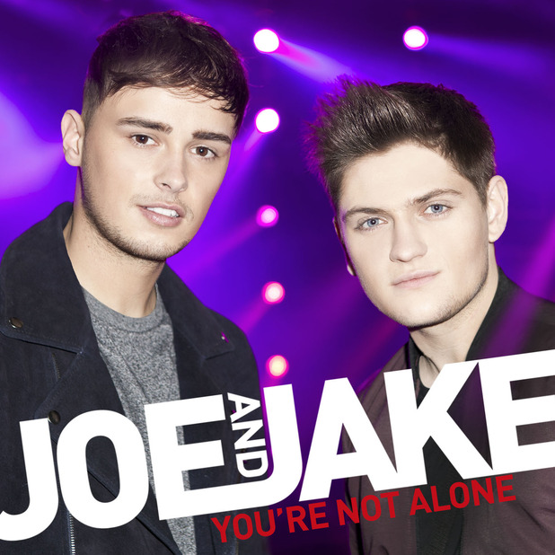 Joe and Jake - 'You're Not Alone' artwork cover.