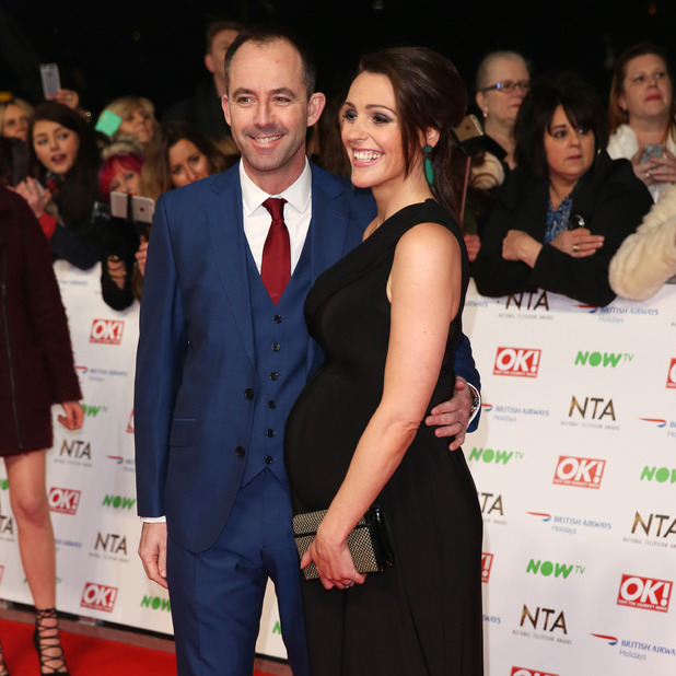Suranne Jones and Laurence Akers attend the 21st National Television Awards at The O2 Arena on January 20, 2016 in London, England.